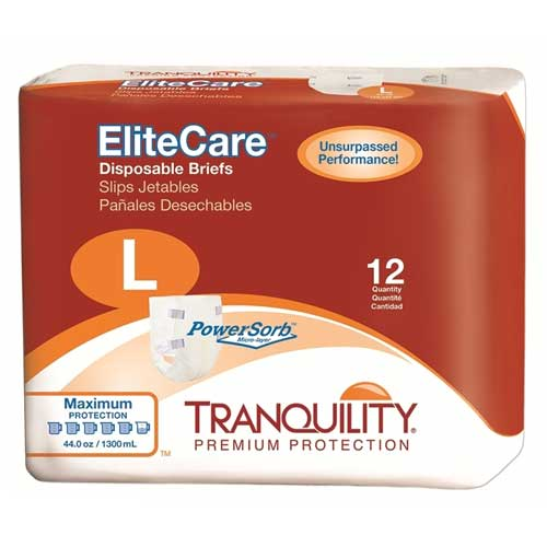Tranquility EliteCare Briefs