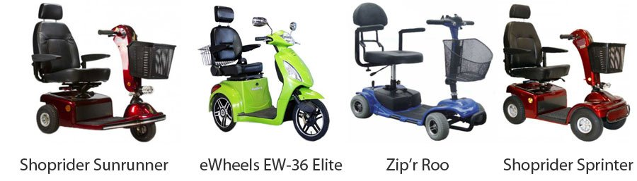 Types of Mobility Scooters