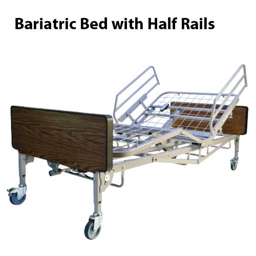 Bariatric Full Electric Homecare Hospital Bed