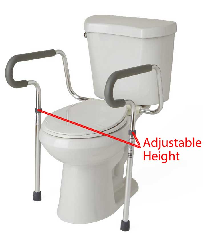Wondrous Medline Guardian Toilet Safety Rails G30300H Mds86100Rf Gmtry Best Dining Table And Chair Ideas Images Gmtryco