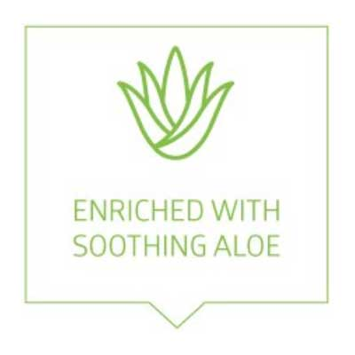 Enriched with Aloe