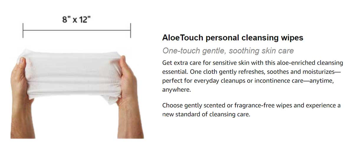AloeTouch Wipes