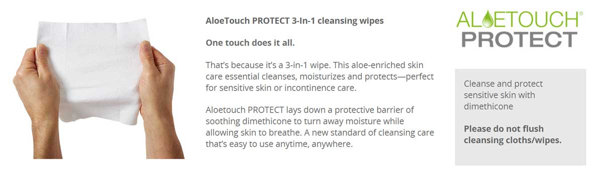 AloeTouch Protect Wipes