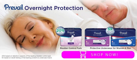 Prevail Overnight Protection