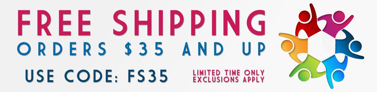 HOORAY! Free Shipping Starts TODAY!