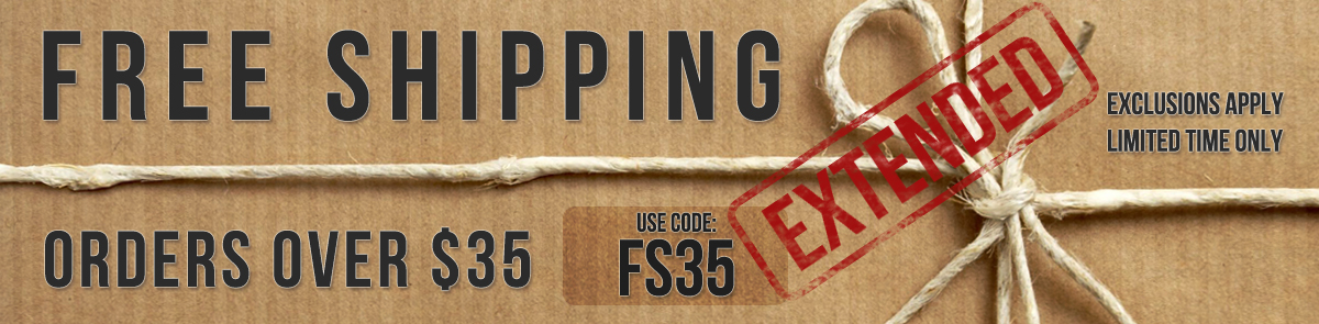 Your Exclusive Free Shipping Offer Has Been EXTENDED!