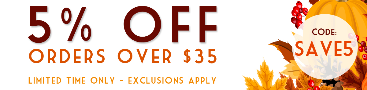 Fall in Love With Our Savings - 5% OFF NOW!