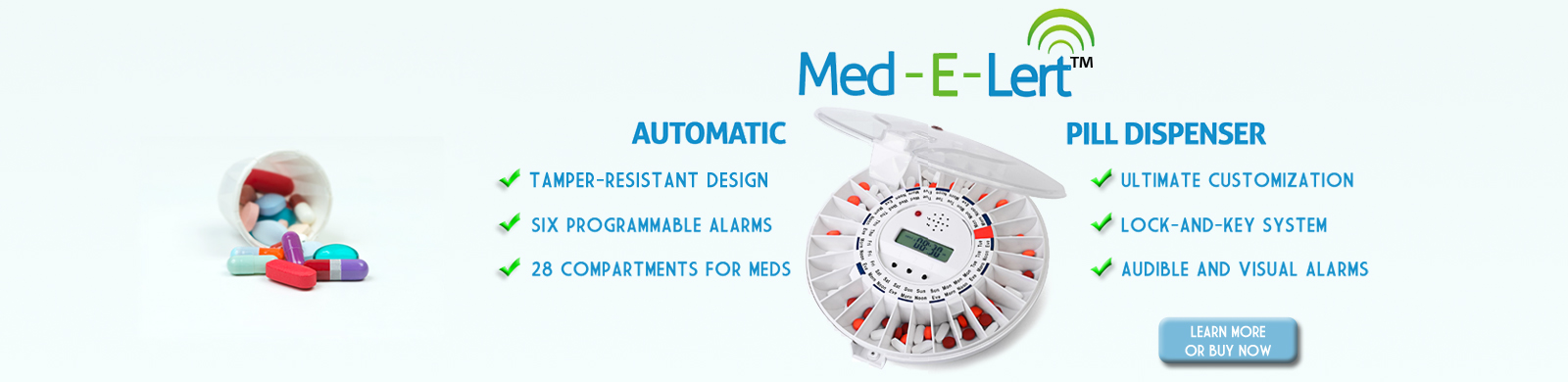 Med-E-Lert Automatic Pill Dispenser on Sale