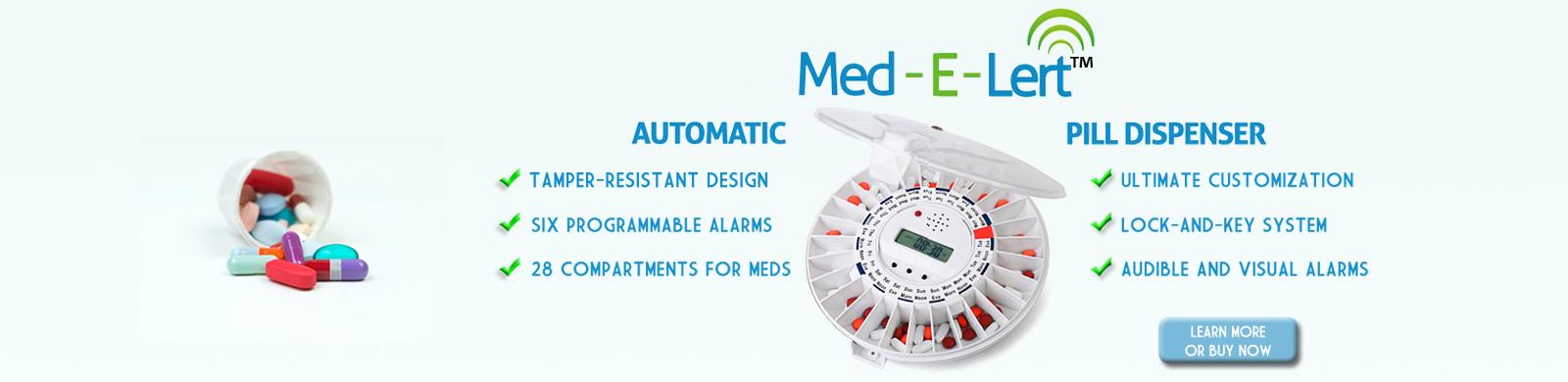 Med-E-Lert Automatic Pill Dispenser on Sale