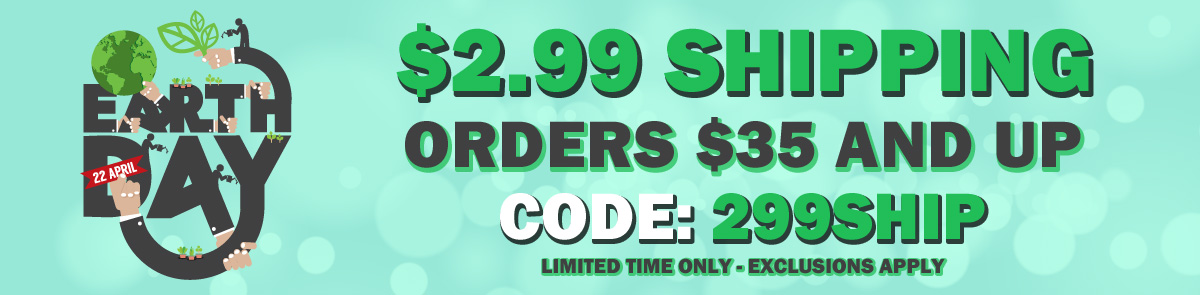 $2.99 Shipping on Orders Over $35!