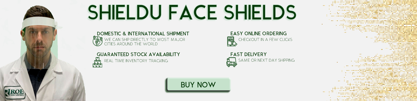 Face Shields in Stock Now