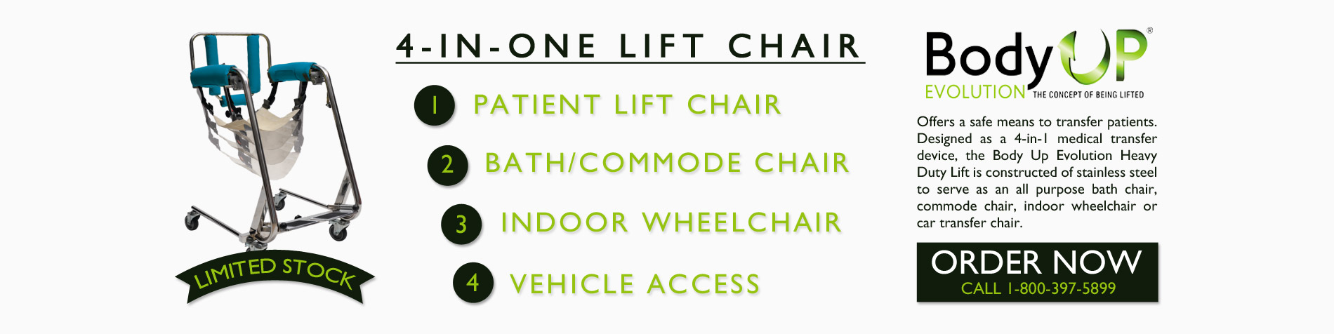 Body Up Evolution Lift Chair