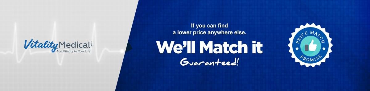 Vitality Medical Price Match!