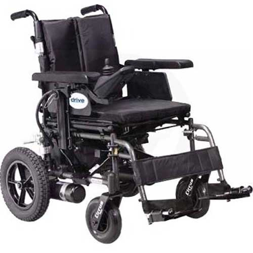 Cirrus Plus HD Folding Power Wheelchair - Heavy Duty