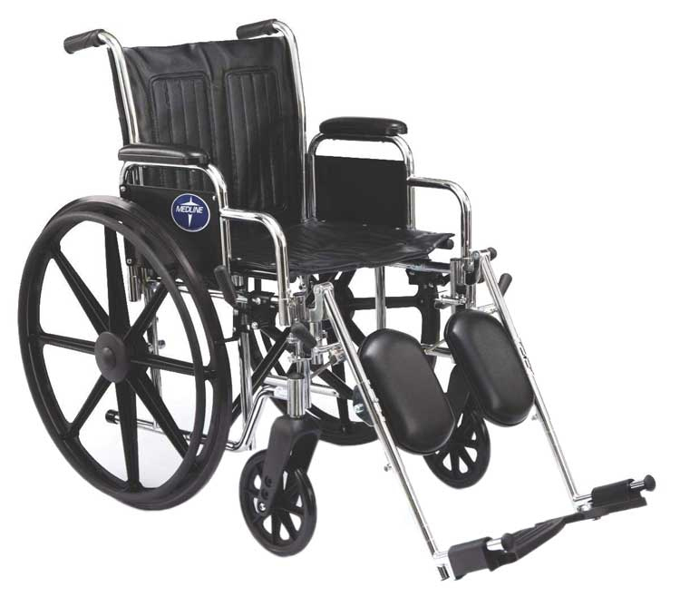 Medline Excel 2000 Extra-Wide Wheelchairs