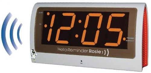 Reminder Rosie 25-Alarm Voice Activated Clock