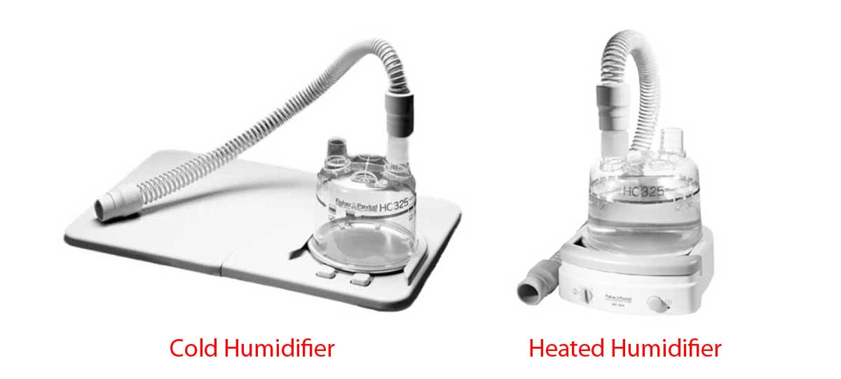 Types of CPAP Humidifiers