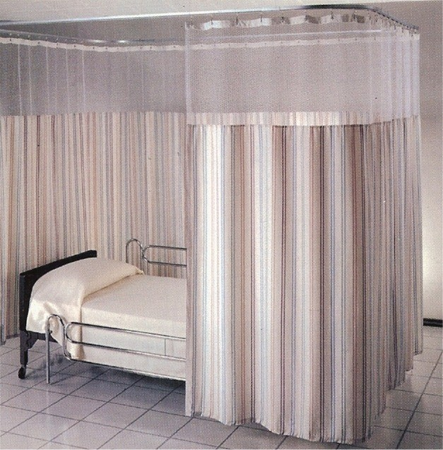 Patient Privacy Curtains used in hospitals and clinics