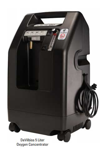 525DS DeVilbiss Oxygen Concentrator
