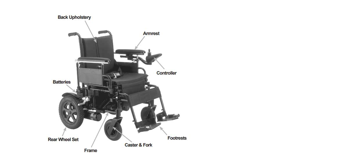 Cirrus Plus Hd Folding Power Wheelchair Heavy Duty