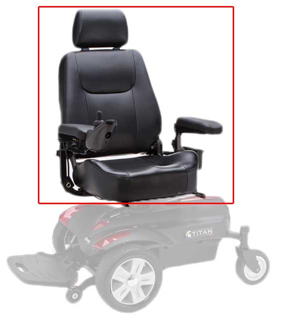 Power Wheelchair Seat Selection