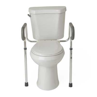 Easy to Clean Toilet Safety Frame