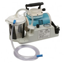 Schuco-Vac S330A Suction Aspirator w/ 800 cc Canister, Tubing/Filter & Molded Base