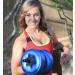 AquaBells Travel Weights Dumbell