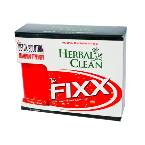BNG Herbal Clean The Fixx Detox Solution Tropical Maximum Strength