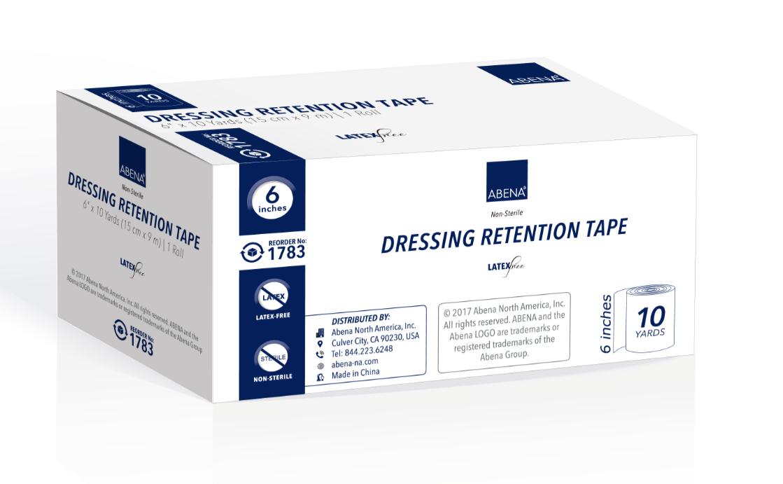 retention tapes non sterile latex free 6de