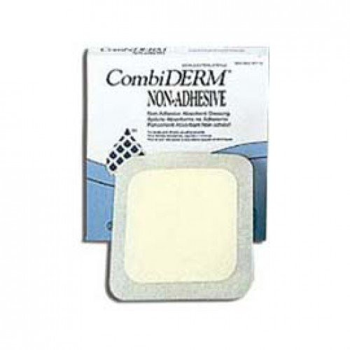 CombiDERM Non-Adhesive Cover Dressings 187774 | Square 5.25 x 5.25 Inch by ConvaTec