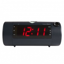 The Sonic Blast - Super Loud Projection Alarm Clock with Bluetooth Speaker