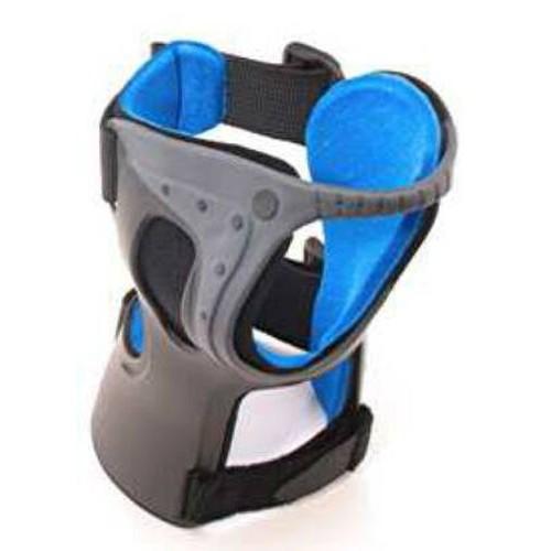 Exoform Wrist Support, Suede/Flannel, Black/Blue