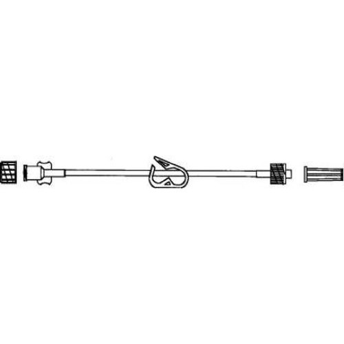 Microbore Extension Set with Slide Clamp