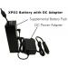 Optional XPO2 External Battery DC Adapter