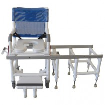 MJM PVC Shower Transfer Chair