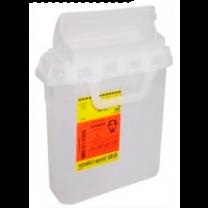 3 Gallon Pearl RecyKleen Sharps Collector with Counterbalanced Door 305053