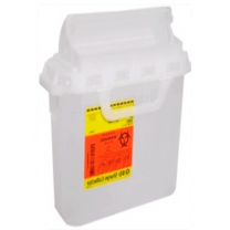 3 Gallon Pearl RecyKleen Sharps Collector with Counterbalanced Door 305053