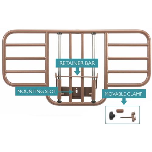 probasics bed rail half length clamp on 0c3