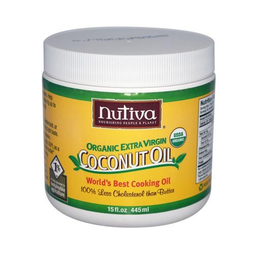 Nutiva Extra Virgin Coconut Oil Organic