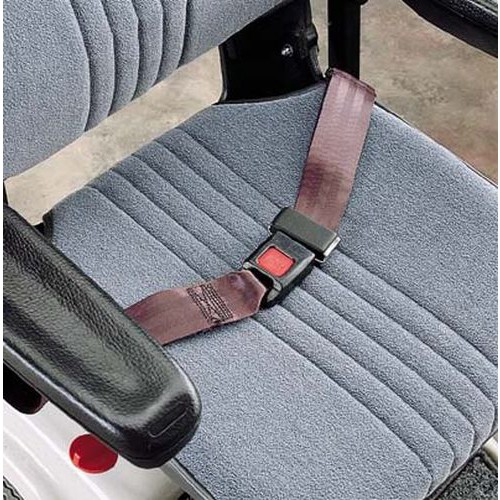 Seat Positioning Strap with Mounting Gromets