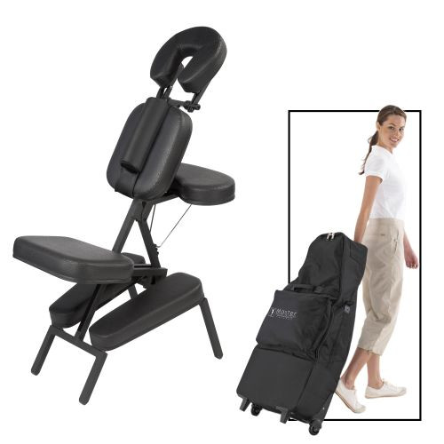 Apollo Portable Massage Chair Package with Wheels Bag