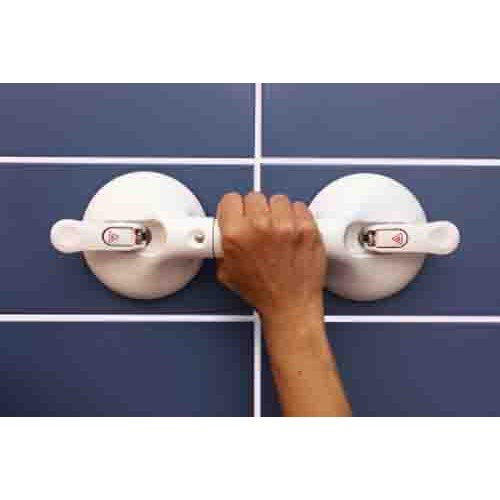 Mobeli One Hand Suction Cup Handle