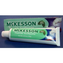 McKesson Mint Flavor Toothpaste