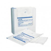 Tracheotomy Drain Sponges 2 x 2  Inch 6 Ply, Sterile - 84918