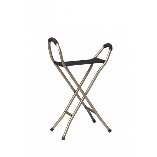 Seat Cane Folding Lightweight Deluxe with Sling Style Seat
