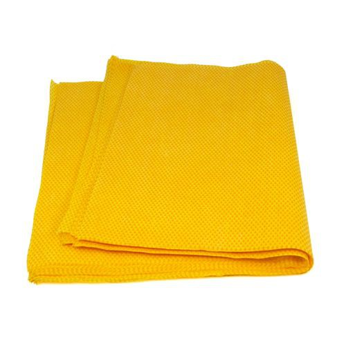 Taskbrand Ds-H Stretch Duster, Flat, Polybag, Yellow/Orange Wipers