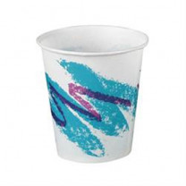 Solo Jazz Wax Coated Paper Drinking Cup