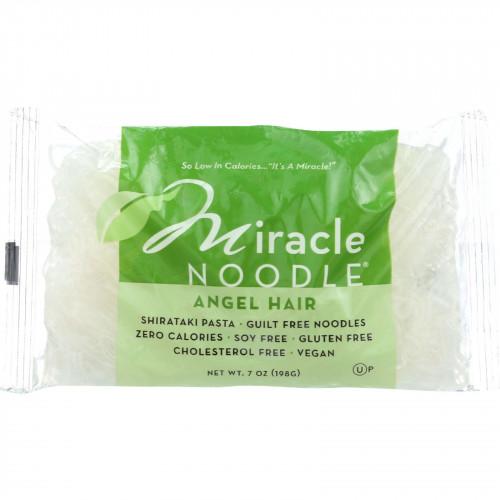 Miracle Noodle Pasta - Shirataki - Miracle Noodle - Angel Hair