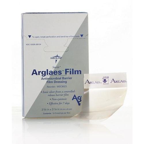Arglaes Film Antimicrobial Barrier Film Dressing